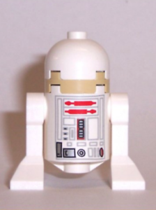 Lego R5-D4 10144 Unprinted Dome Sandcrawler Star Wars Minifigure