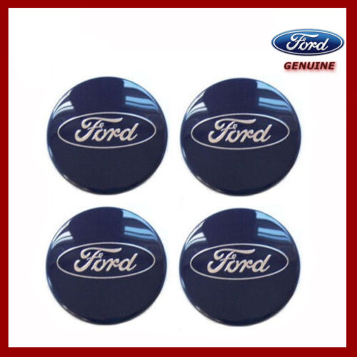 Genuine Ford Most Models 1429118 54mm Alloy Wheel Centre Cap x4 New