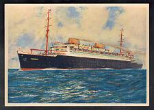 Mint color Picture Postcard SS Europa Passenger Liner Steam Ship John McHale
