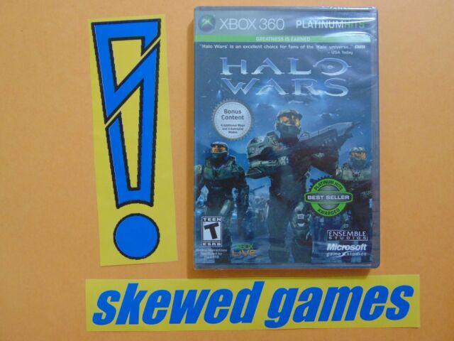 Halo Wars Platinum Hits - New Sealed - XBox 360 Microsoft
