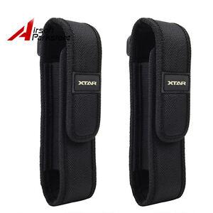 2X-Nylon-Holster-Holder-Belt-Pouch-Case-Bag-for-Tactical-Flashlight-Torch