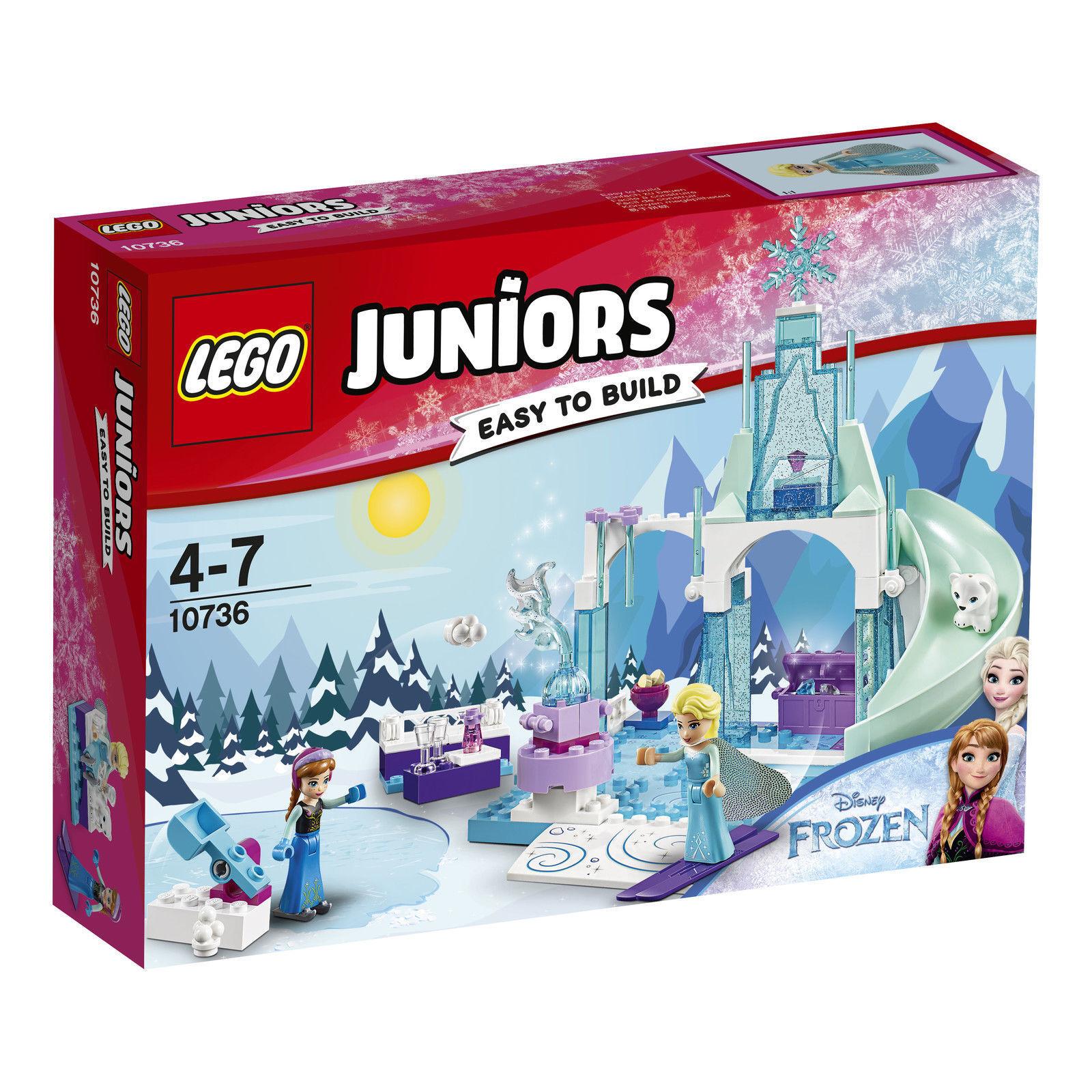 LEGO 4Juniors Annas & Elsas Eisspielplatz (10736) (10736) (10736) NEU&OVP 5fb245