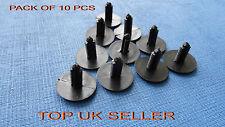 10 X Panel guarnecido del árbol de abeto Porsche Negro/abeto clips de botón