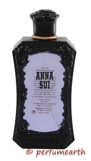 ANNA SUI BY ANNA SUI UNBOX WITH CAP 3.4/3.3 OZ EDT SPRAY FOR WOMEN NEW NO BOX