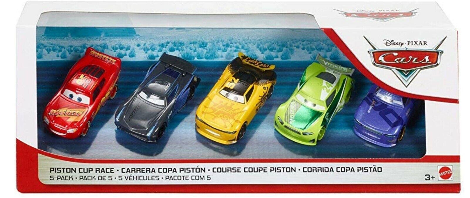 Disney Pixar Cars 3 Piston Cup Race 5 Pack Leak Less Chase Jackson
