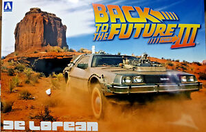 Analytique De Lorean Ritorno Al Futuro Iii Back To The Future Part Iii - Aoshima Kit 1:24
