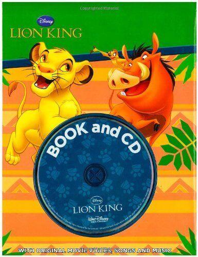 1 of 1 - Disney Lion King Storybook & CD (Disney Storybook & CD) by Disney 1445475995 The