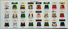 LEGO CUSTOM MINIFIG GLOSSY DECAL SET G.I. JOE SET 1 24 FIGURE LOT