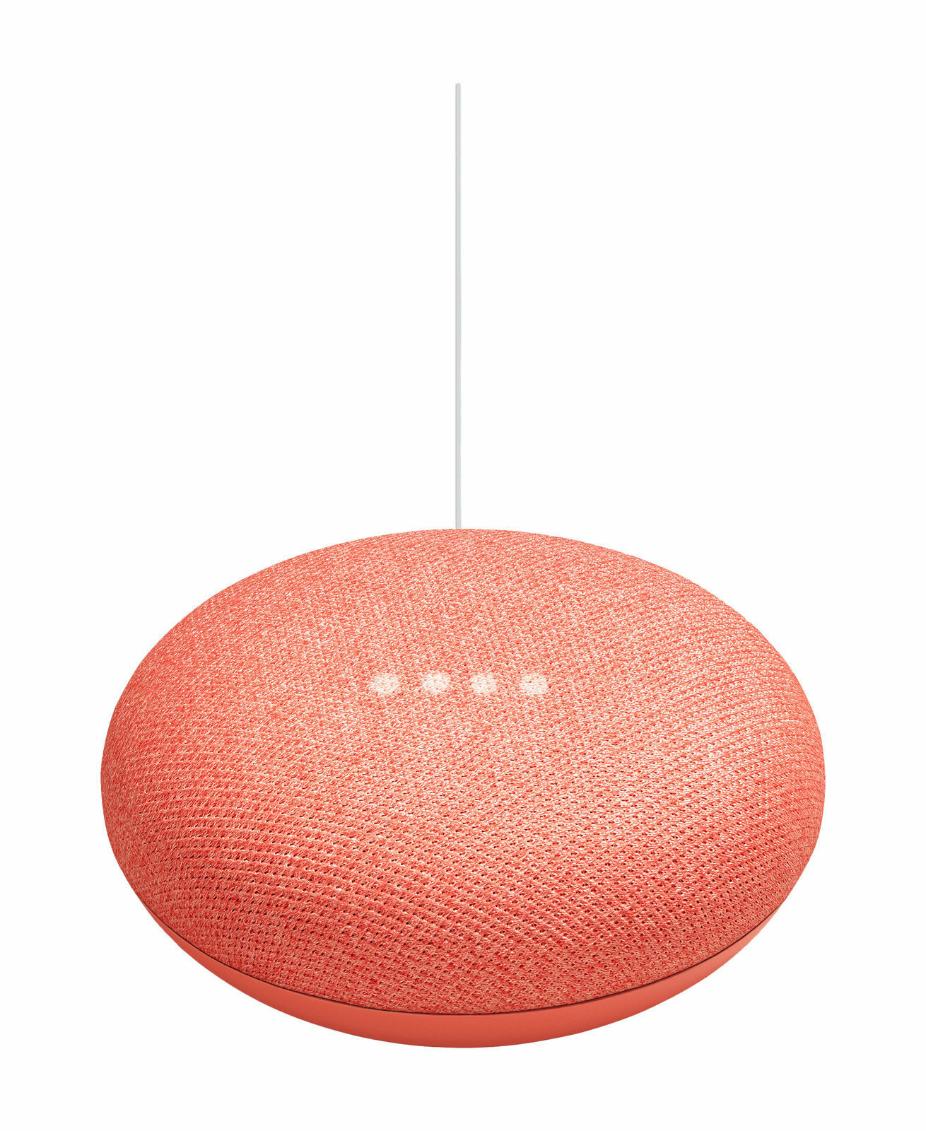Google Home Mini Hands-Free Smart Speaker, Coral, Get Answers, Control Smart