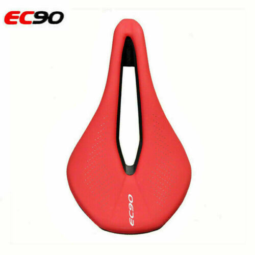 EC90 MTB Bike Racing Bike Comfortable Cushions Seat Gel Soft Leather Saddle US