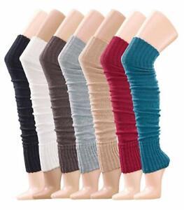 Krautwear-Beinwaermer-Stulpen-Legwarmers-Overknees-ca-70cm-Oko-Tex-Standard-100