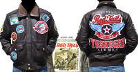 Tuskegee Airmen Leather Jacket