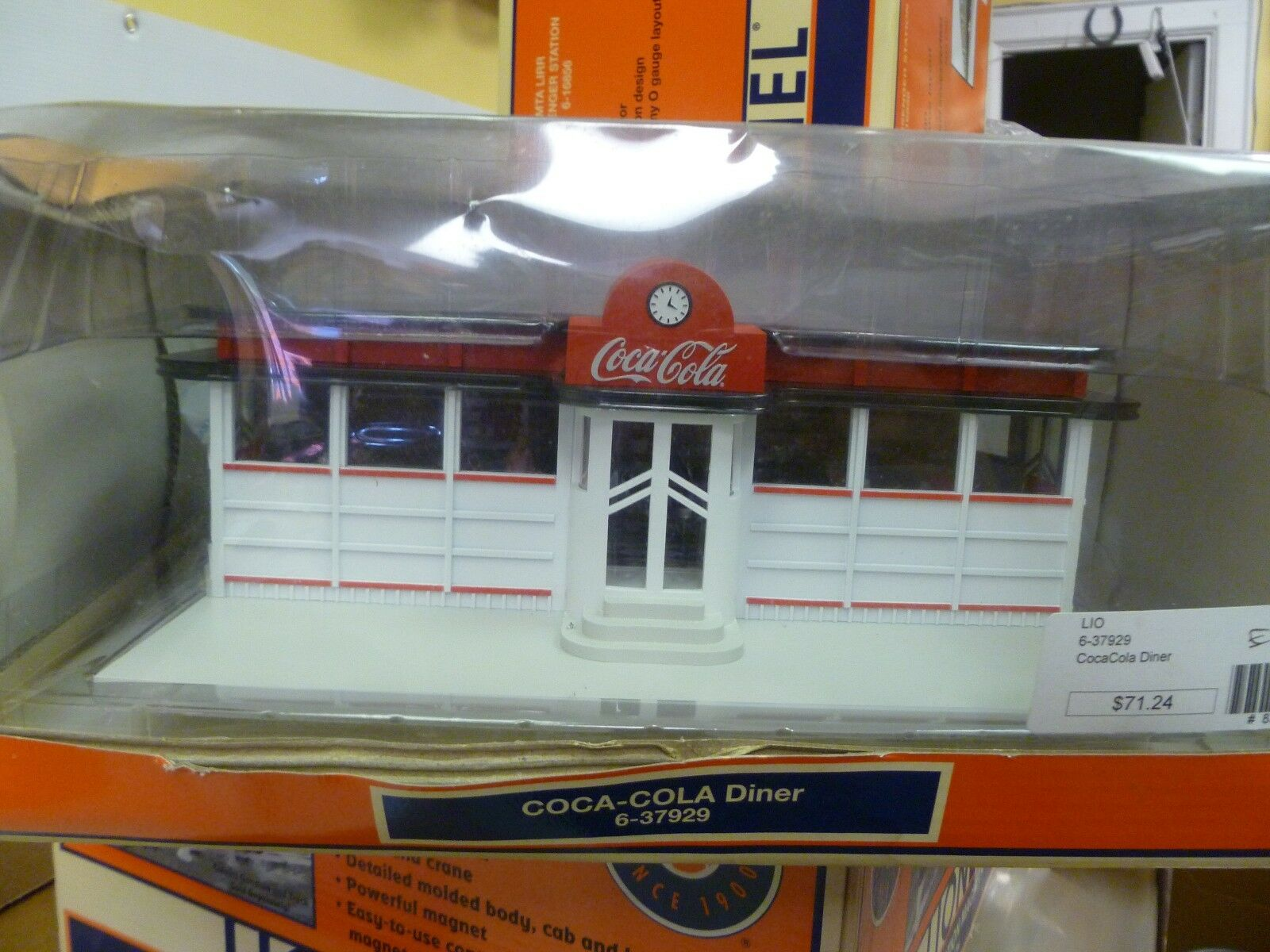 O scale - lionel - charge nr. 106 - coca - cola - diner - neue