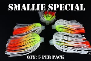 PRO-TIE SKIRTS Bass,spinnerbait Qty Chatterbait fishing lure skirt 5 per pack
