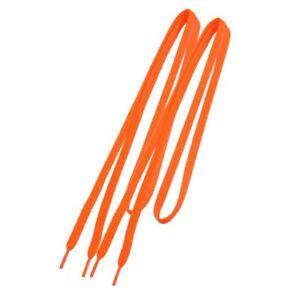 Basket-Remplacement-8mm-Large-Orange-plat-cordes-Lacet-Paire-H5U3