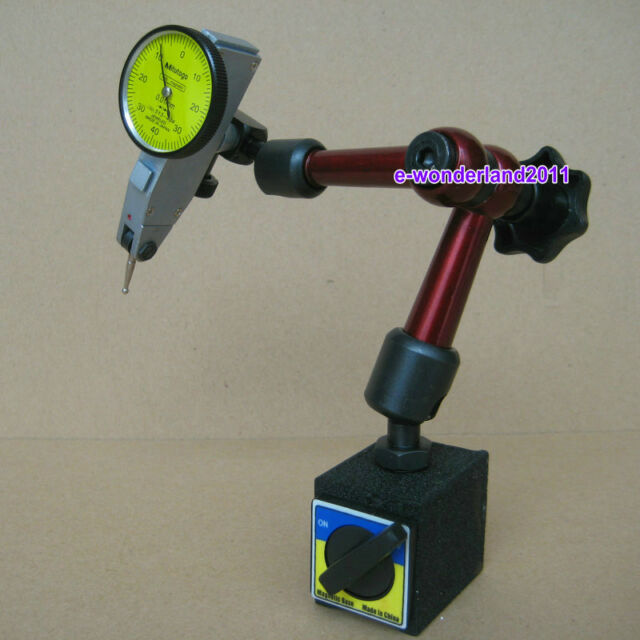 Mini Universal Flexible Magnetic Base Holder Stand & Dial Test Indicator Tool