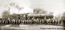 Chicago & Alton Railway Engine - 1907 - Historic Photo Print