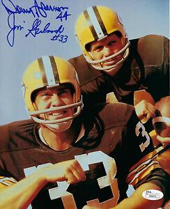 PACKERS-Donny-Anderson-amp-Jim-Grabowski-signed-8x10-photo-JSA-COA-AUTO-Autograph