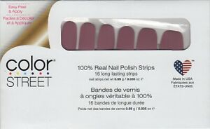 Color Street Nail Polish Strips - Manchester Mauve (FMC193) Made in the USA