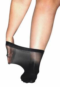 Super Wide Knee High Pop Socks Extra Large XXL Swollen Legs Ankles 20 Denier