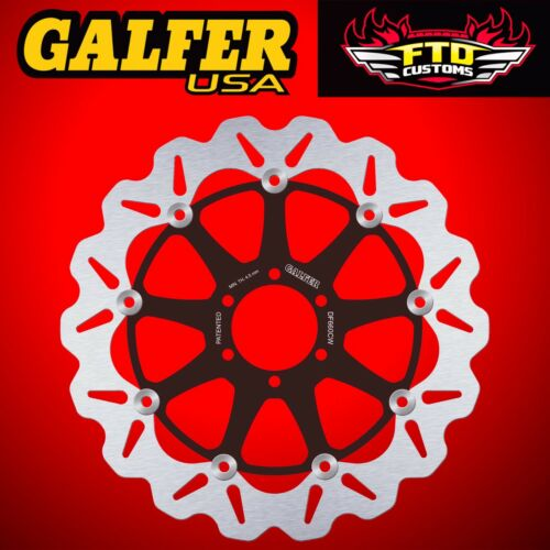 Galfer Front Floating Wave Rotor for 2005 Ducati Sport 1000 DF660CW