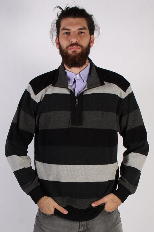 Vintage Pierre Cardin Herren Pullover Winter Warm 90s Jahre Oberteile XL Multi