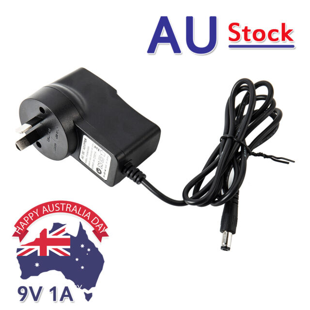 AU Plug Power Supply AC 100-240V to DC 9V Adapter Plug Converter for Led