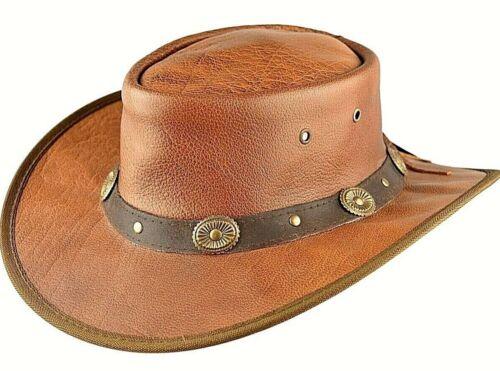 Vera Aussie Marrone Cappello Festival Stetson Mano Pelle Da Cowboy A Fatto wvmN80n