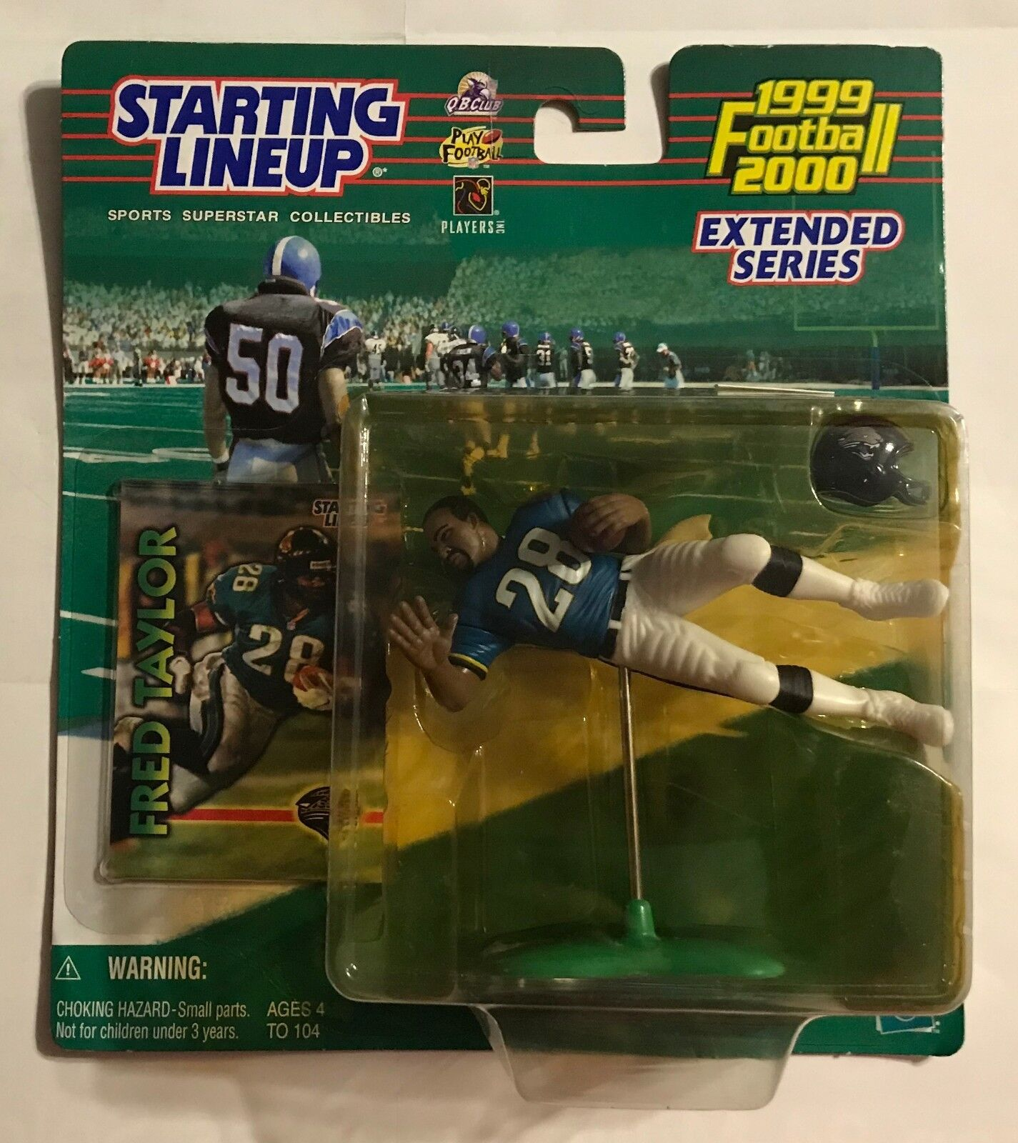 1999 2000 STARTING LINEUP - FRED TAYLOR - ACTION FIGURE