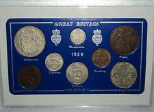 1926 GB Great Britain British Vintage Coin Set (91st Birthday Gift Birth Year)