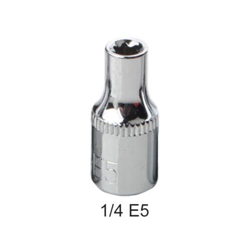 E4-E24 Prise Adaptateur Réducteur Clé Cliquet Torx Étoile Bit 42-48 Degrés Tools