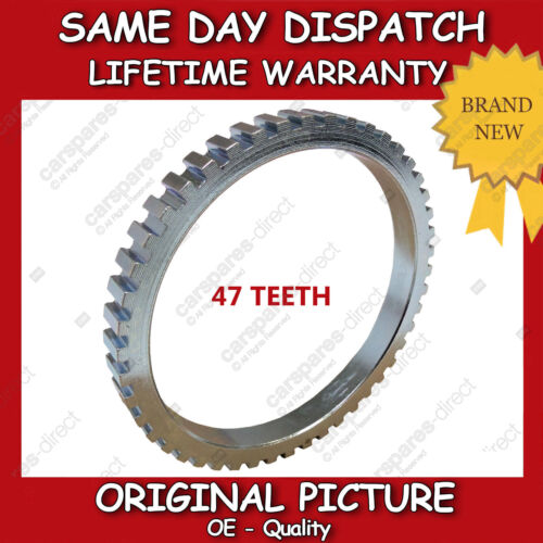 NEW LEFT OR RIGHT CV JOINT ABS RING FIT FOR A HYUNDAI SONATA IV 2.0  47 TEETH