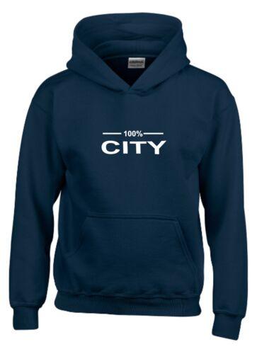 100/% CITY FAN HOODIE MENS