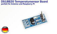 Digitaler Temperatursensor DS18B20 Modul Board für Arduino Raspberry Pi