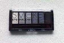 Technic Smokey 6 Colour Eye Shadow Palette White Grey Silver Black