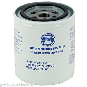 MARINE-BOAT-UNIVERSAL-MERCURY-WATER-SEPARATING-FUEL-filter-Mercury-Outboard
