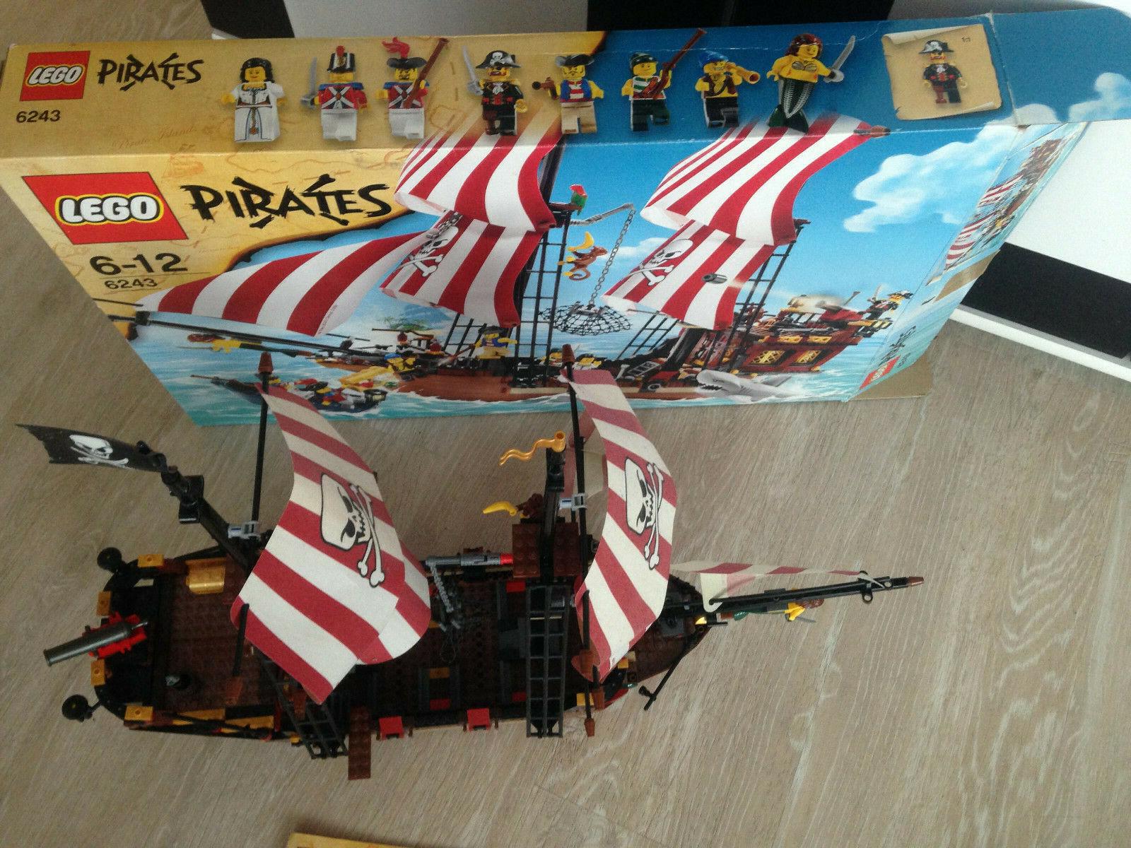 Lego Pirates gran barco pirata (6243) como nuevo + embalaje original + ba + 100% completo