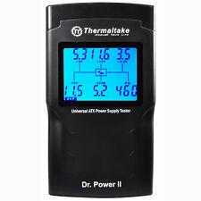 THERMALTAKE Dr. POWER II Tester PSU 20/24 Pin SATA, MOLEX, PCI-E 6 e 8, ATX 2.3