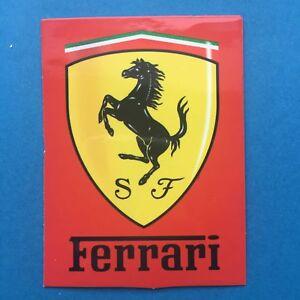 Details Zu 1x Scuderia Ferrari Sticker Aufkleber F01