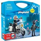 PLAYMOBIL Police Carrying Case 5891 Toys