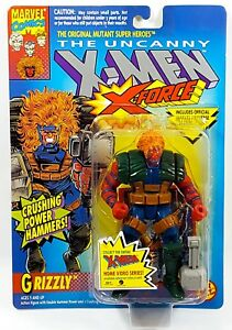 X-MEN TOY BIZ  GRIZZLY ACTION FIGURE