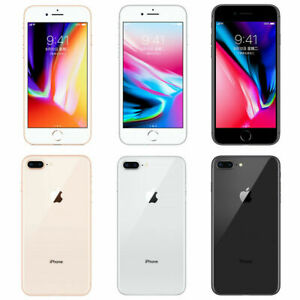 Apple iPhone 8 Plus (Unlocked) A1897 (GSM) (CA) 64GB/256GB