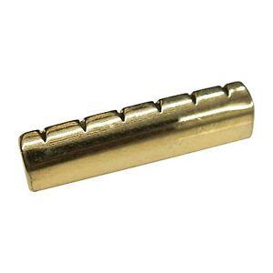 brass nut for 6 string electric guitars 43mm. Black Bedroom Furniture Sets. Home Design Ideas