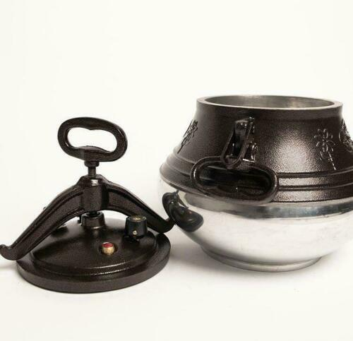Kazan Afghan Pot Camping Cooking Pot Preasure Cooker Fire Pot Aluminum Kazan 10l