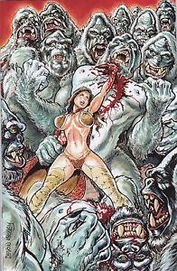 CAVEWOMAN FREAKIN' YETIS #1 DEVON MASSEY SPECIAL EDITION COVER B LIMITED TO 350