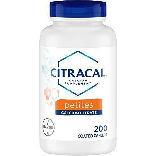 Citracal Petites, Highly Soluble, Easily Digested, 400 mg Calcium 200 Count