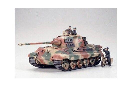Tamiya 35252 - 1 35 WWII Dt. Königstiger - Ardennes 1944 - New