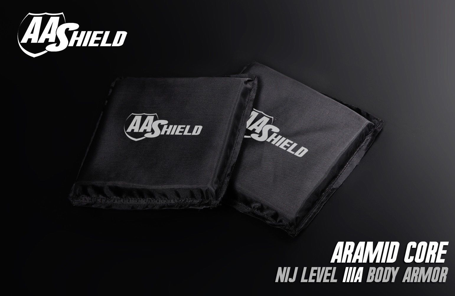 AA Shield Bullet Proof Panel Body Armor Inserts Soft Plate  Lvl IIIA 3A 6x6 Pair  everyday low prices
