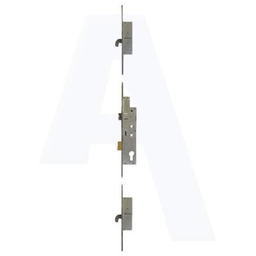 Fullex XL Crimebeater 35//92 44mm Lever Latch /& Deadbolt Twin Spindle 2 Hook