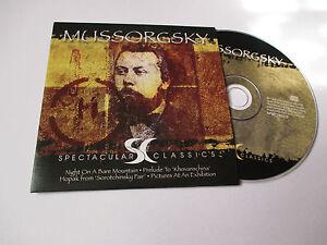 CD-Serie-Spectaculars-Classics-Mussorgsky-pochette-cartonnee